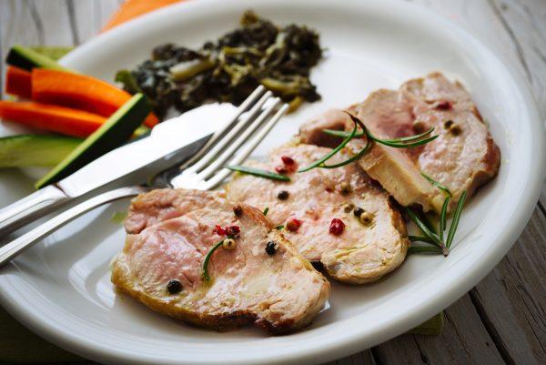 filetes de cerdo organico frescos sugerencia cocinado