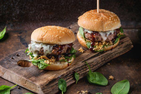 hamburguesa de ternera eco bio Nana sugerencia presentación