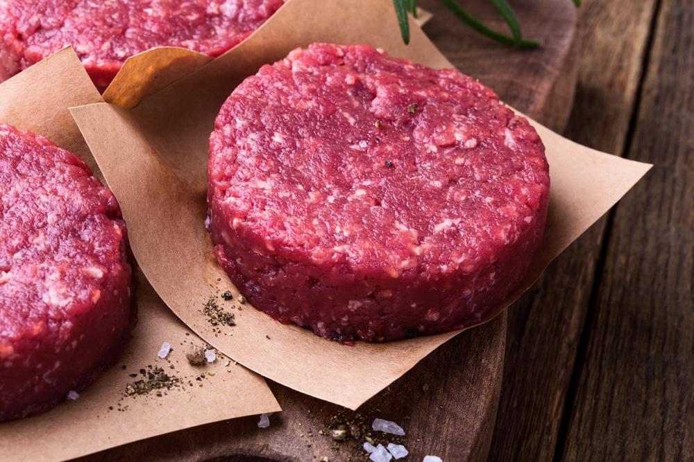 hamburguesa de ternera carne ecológica sin antibióticos