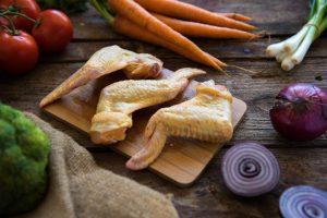 alitas de pollo orgánico nana sin antibióticos