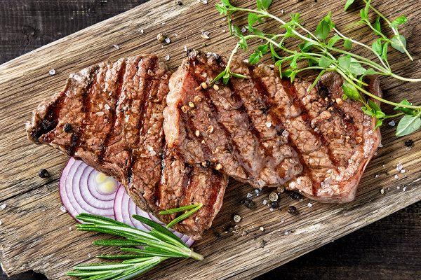 sugerencia presentación filete ternera plancha orgánico Nana