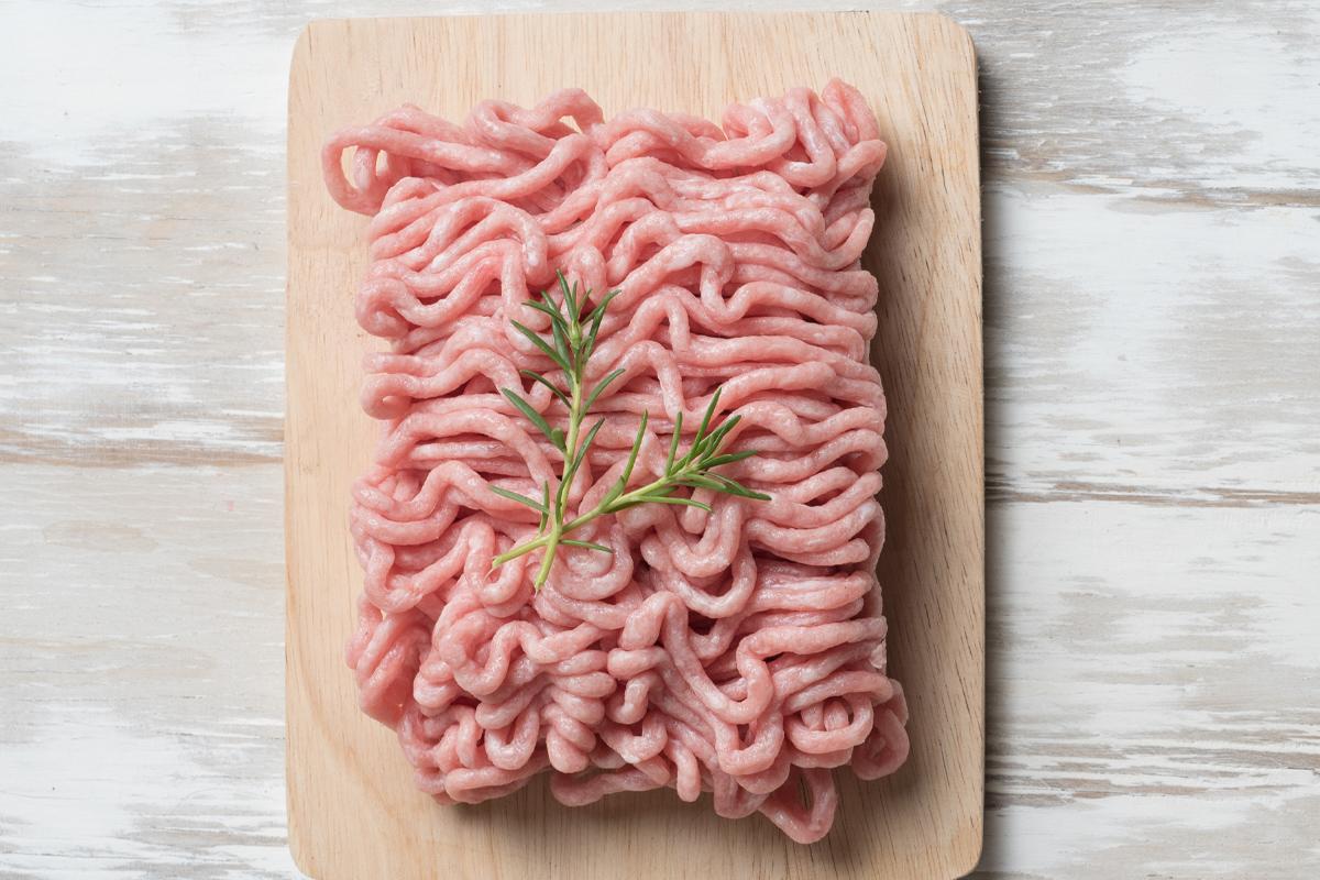 Carne picada de pollo orgánico eco bio Nana