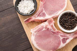 chuletas de cerdo orgánicas eco bio