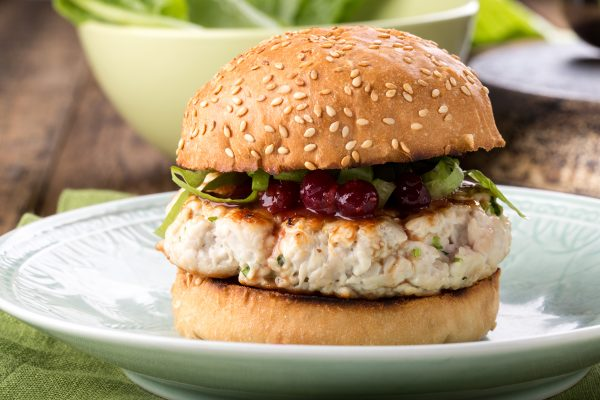 hamburguesa orgánica de pollo bio eco Nana
