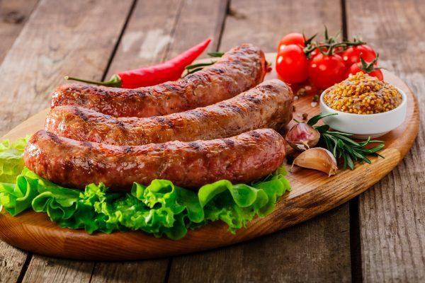 sugerencia cocinado longaniza de cerdo orgánico
